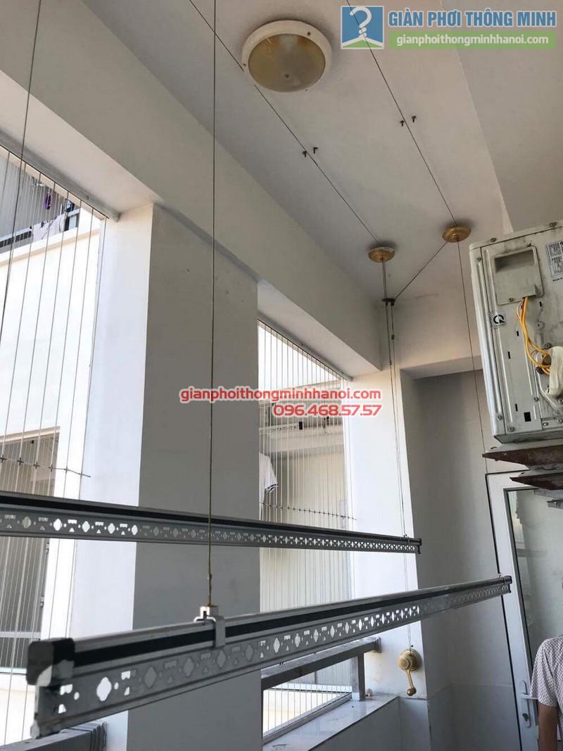 Sửa giàn phơi thông minh Hà Đông nhà chú Xuân, chung cư Unimax 210 Quang Trung - 08