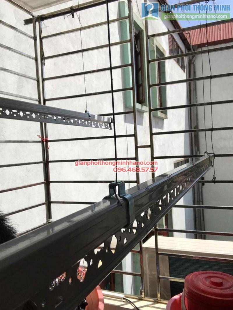 Lắp giàn phơi tại Hoàng Mai, nhà chị Lương, số 26, ngõ 733 Giải Phóng - 02