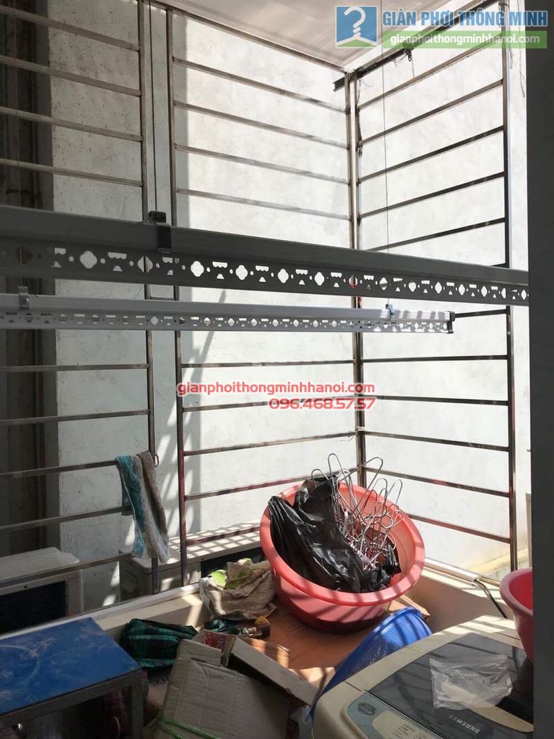Lắp giàn phơi tại Hoàng Mai, nhà chị Lương, số 26, ngõ 733 Giải Phóng - 03