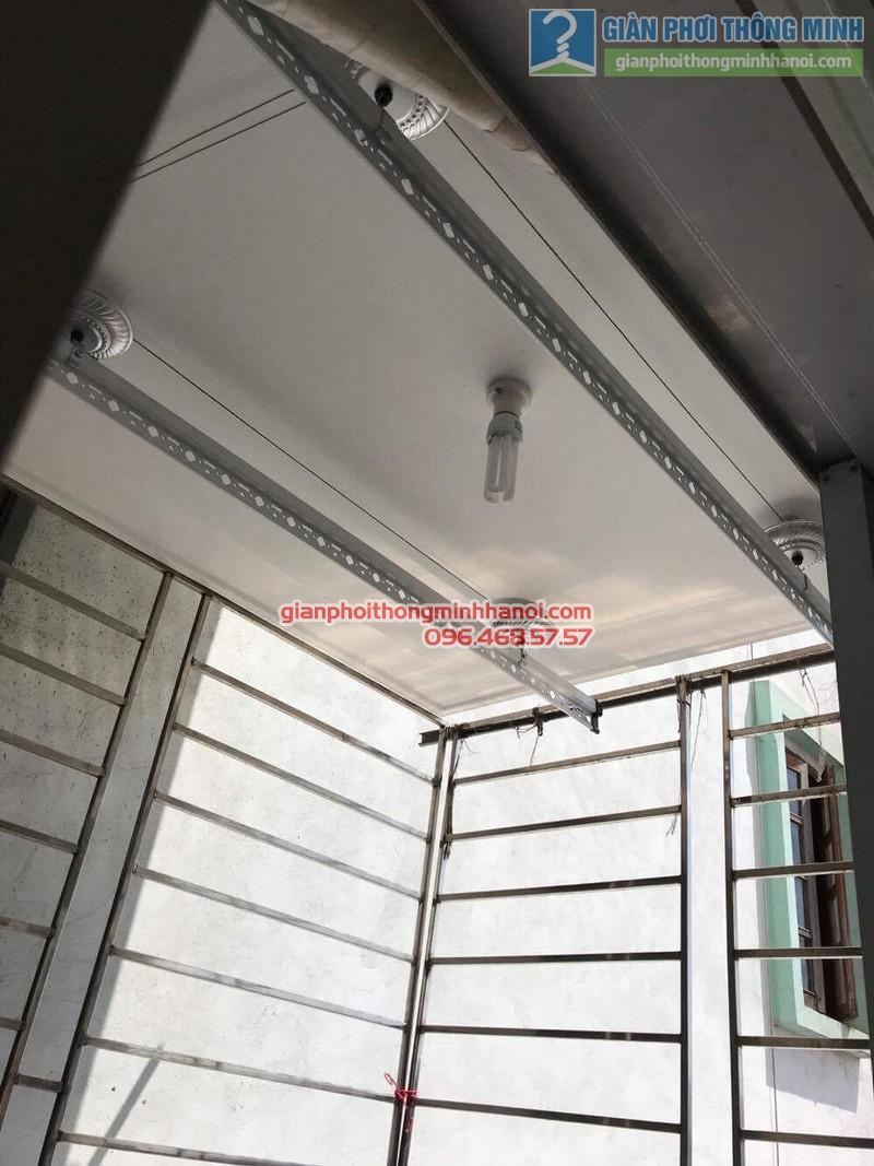 Lắp giàn phơi tại Hoàng Mai, nhà chị Lương, số 26, ngõ 733 Giải Phóng - 06