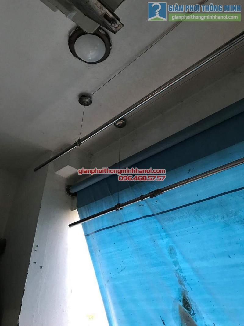 Sửa giàn phơi thông minh nhà anh Bằng, P802, chung cư Thanh Xuân - 01