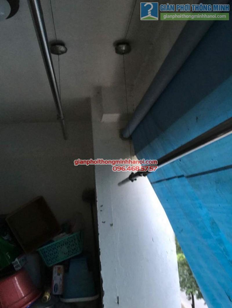 Sửa giàn phơi thông minh nhà anh Bằng, P802, chung cư Thanh Xuân - 02