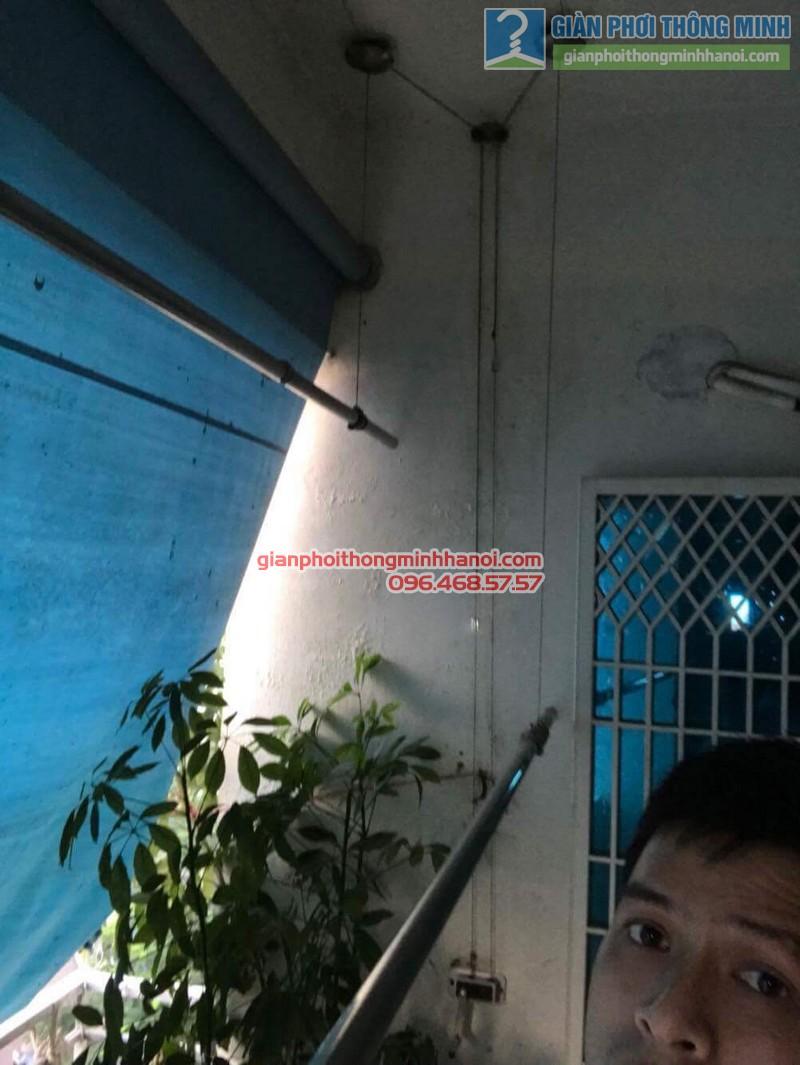 Sửa giàn phơi thông minh nhà anh Bằng, P802, chung cư Thanh Xuân - 04