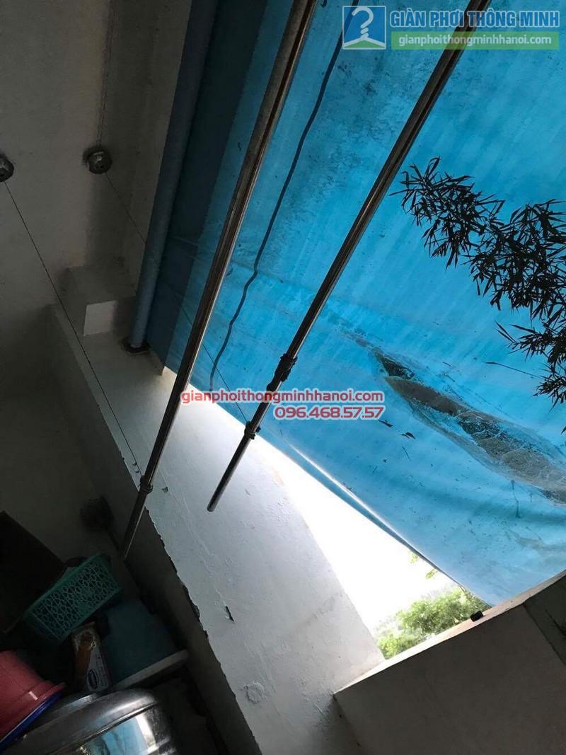 Sửa giàn phơi thông minh nhà anh Bằng, P802, chung cư Thanh Xuân - 05