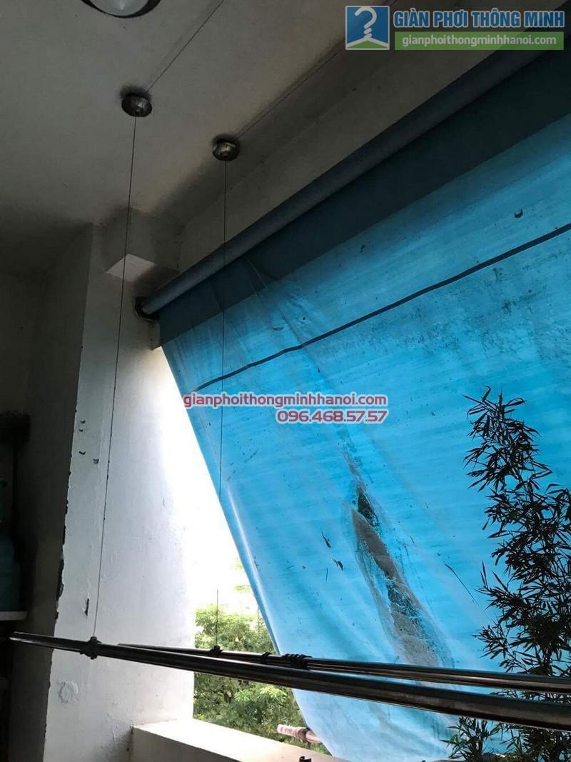 Sửa giàn phơi thông minh nhà anh Bằng, P802, chung cư Thanh Xuân - 06