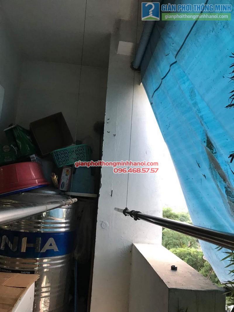 Sửa giàn phơi thông minh nhà anh Bằng, P802, chung cư Thanh Xuân - 07