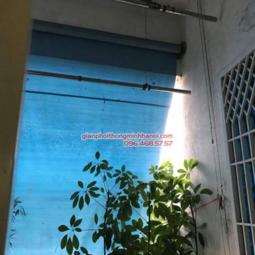 Sửa giàn phơi thông minh tại Thanh Xuân nhà anh Bằng, P802 chung cư C7 Thanh Xuân