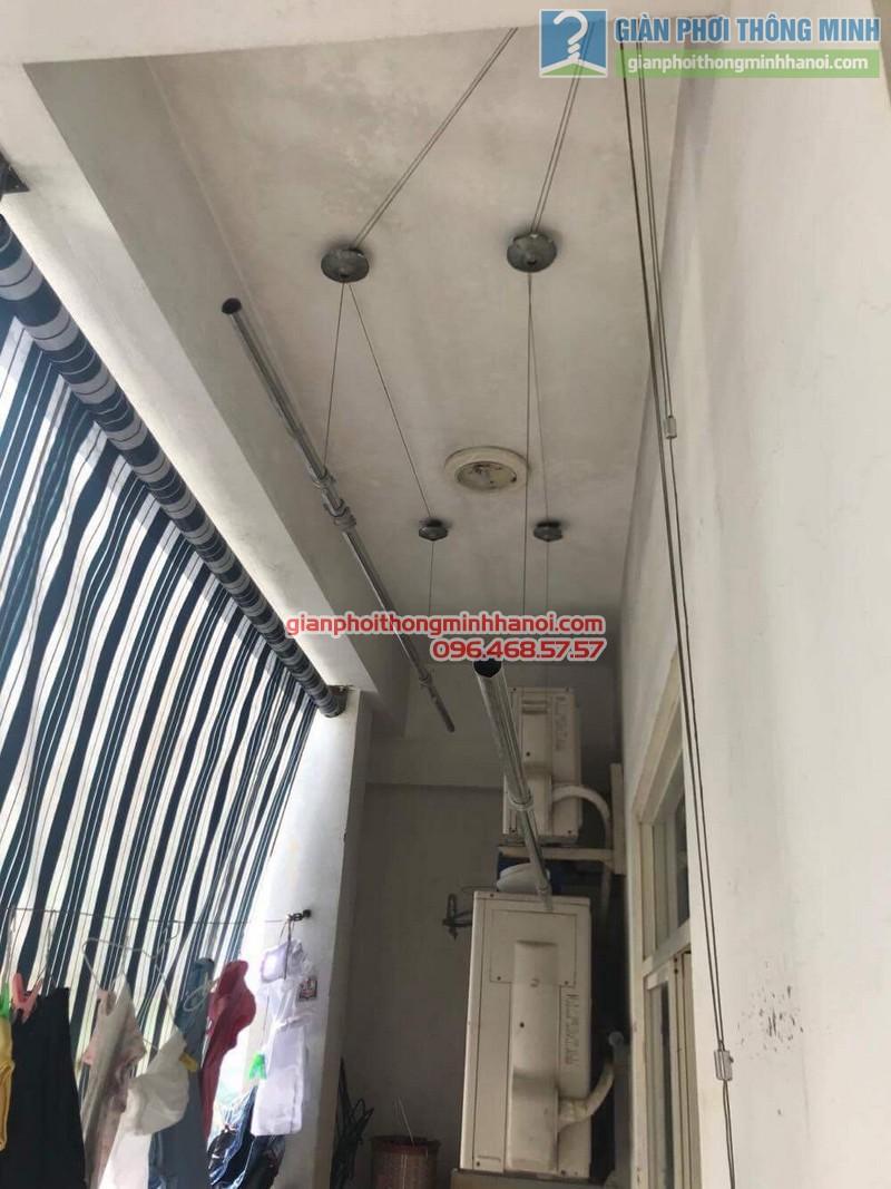 Sửa giàn phơi thông minh nhà chị Quyên, Long Biên, Hà Nội - 04