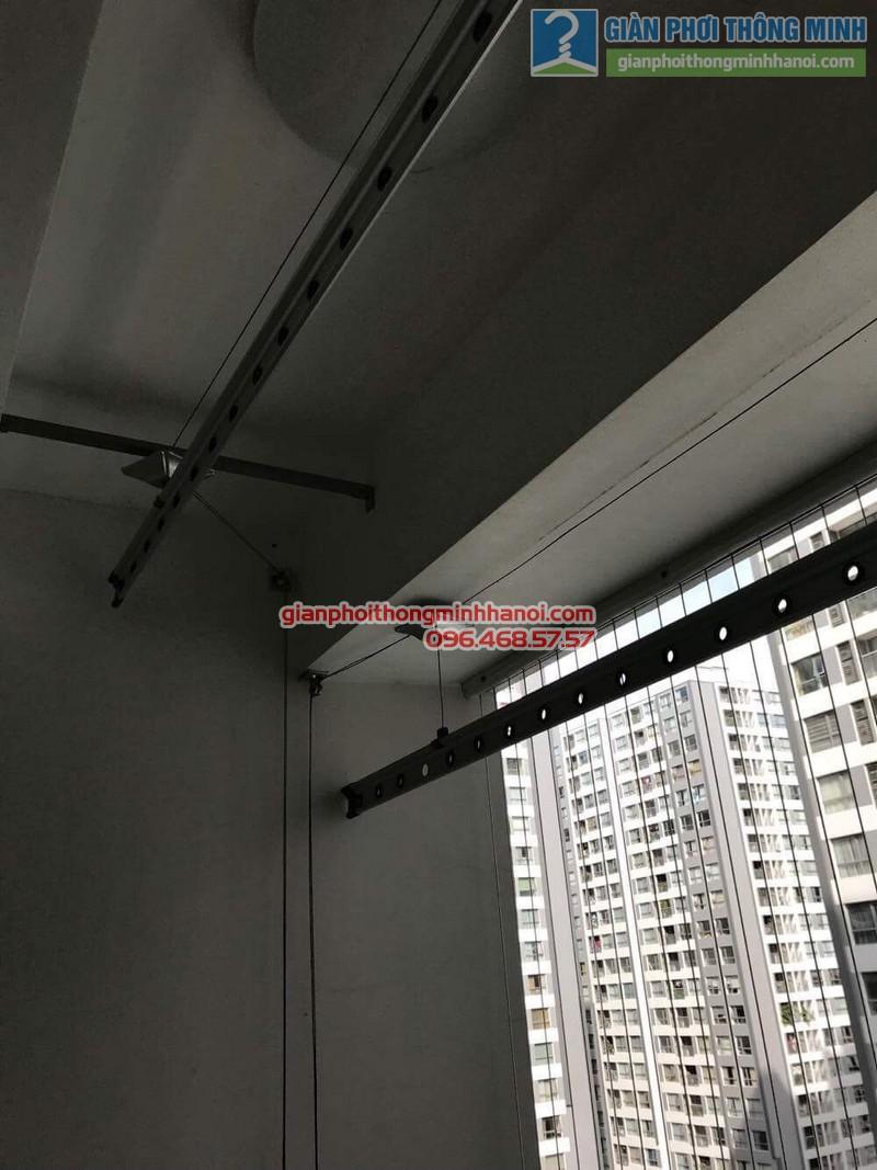 Sửa giàn phơi thông minh tại Times City nhà anh Quyết, Tòa T18 - 01