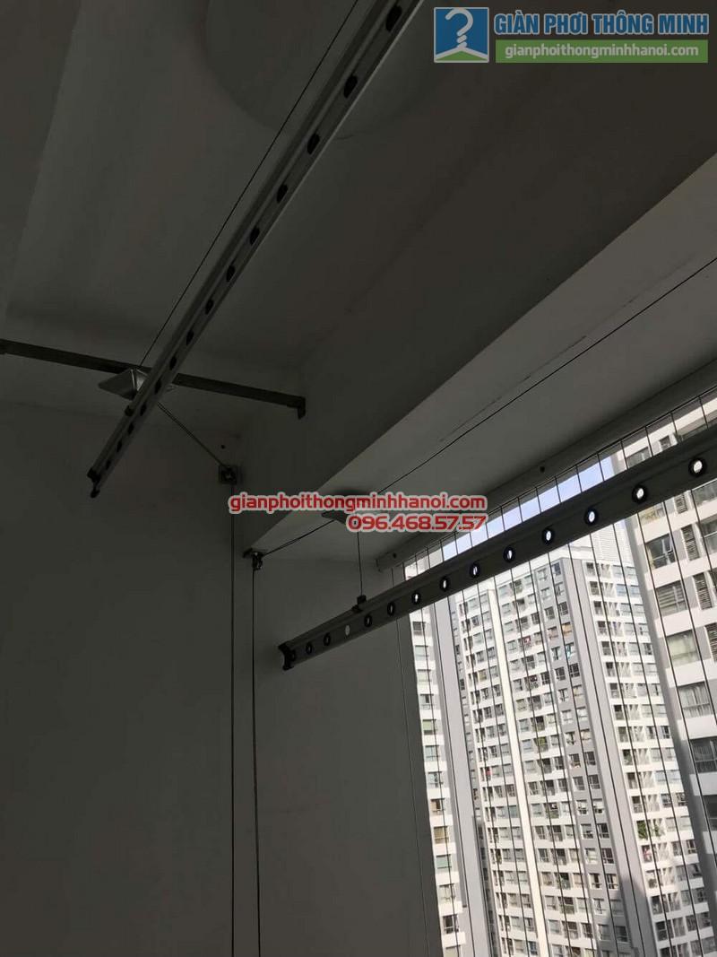Sửa giàn phơi thông minh tại Times City nhà anh Quyết, Tòa T18 - 02