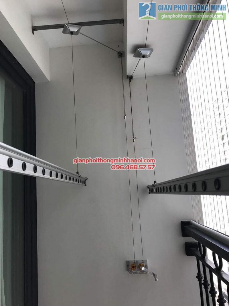 Sửa giàn phơi thông minh tại Times City nhà anh Quyết, Tòa T18 - 04