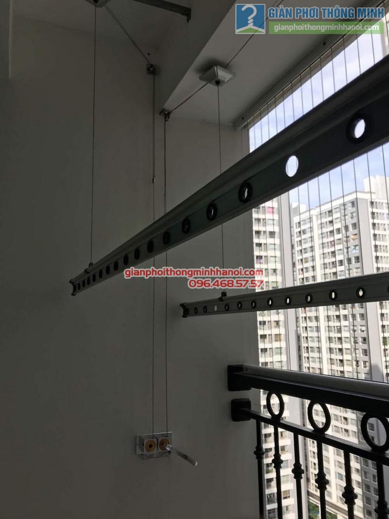 Sửa giàn phơi thông minh tại Times City nhà anh Quyết, Tòa T18 - 05