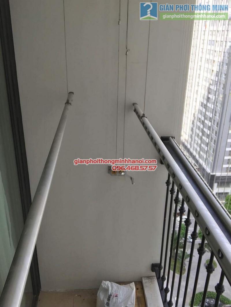 Sửa giàn phơi thông minh tại Times City nhà anh Quyết, Tòa T18 - 07