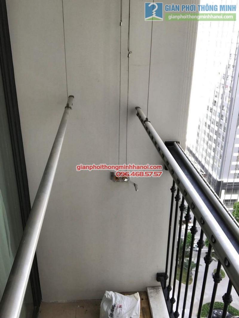 Sửa giàn phơi thông minh tại Times City nhà anh Quyết, Tòa T18 - 08
