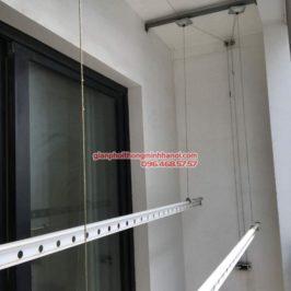 Sửa giàn phơi bị đứt dây cáp cho nhà chị Nguyệt, P2118, T8, Times City
