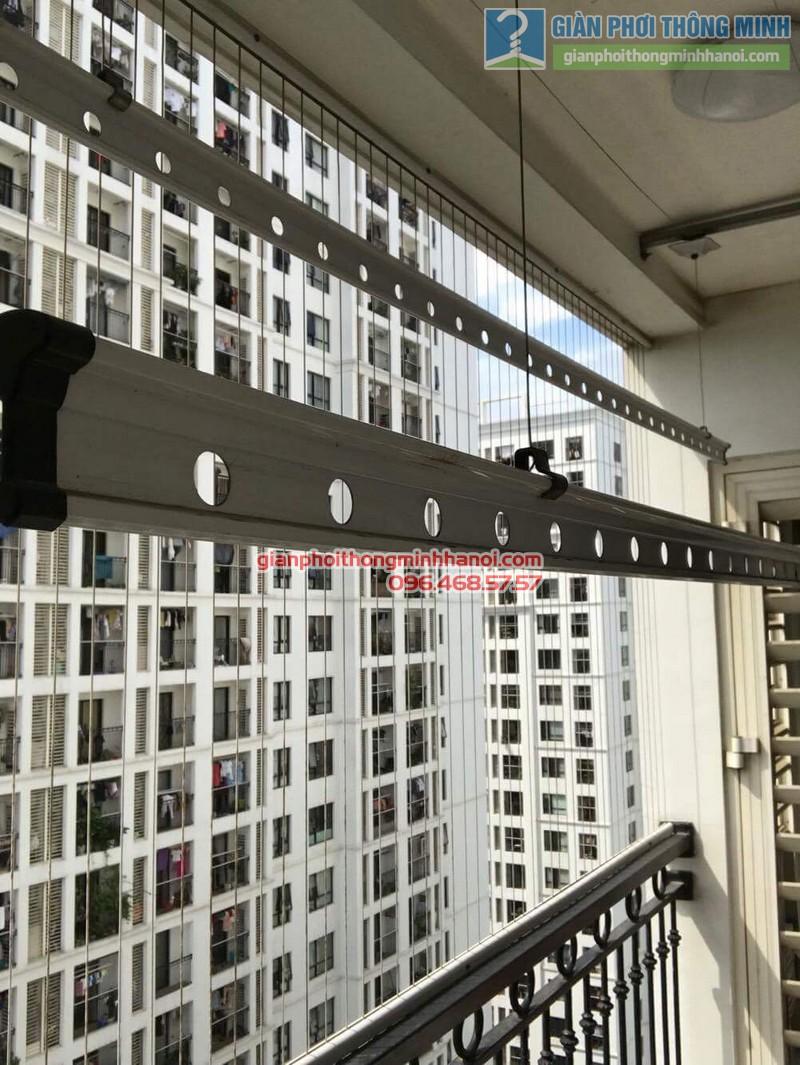 Sửa giàn phơi thông minh tại Times city nhà anh Hạo, P2119, tòa T8 - 05