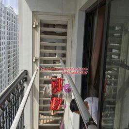Thay dây cáp giàn phơi nhà anh Hạo, P2119, T8, Times City