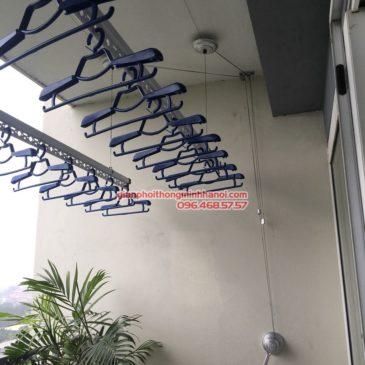 Lắp giàn phơi thông minh Hà Nội nhà chị Mai P1503, tòa A2, KĐT Ecopak