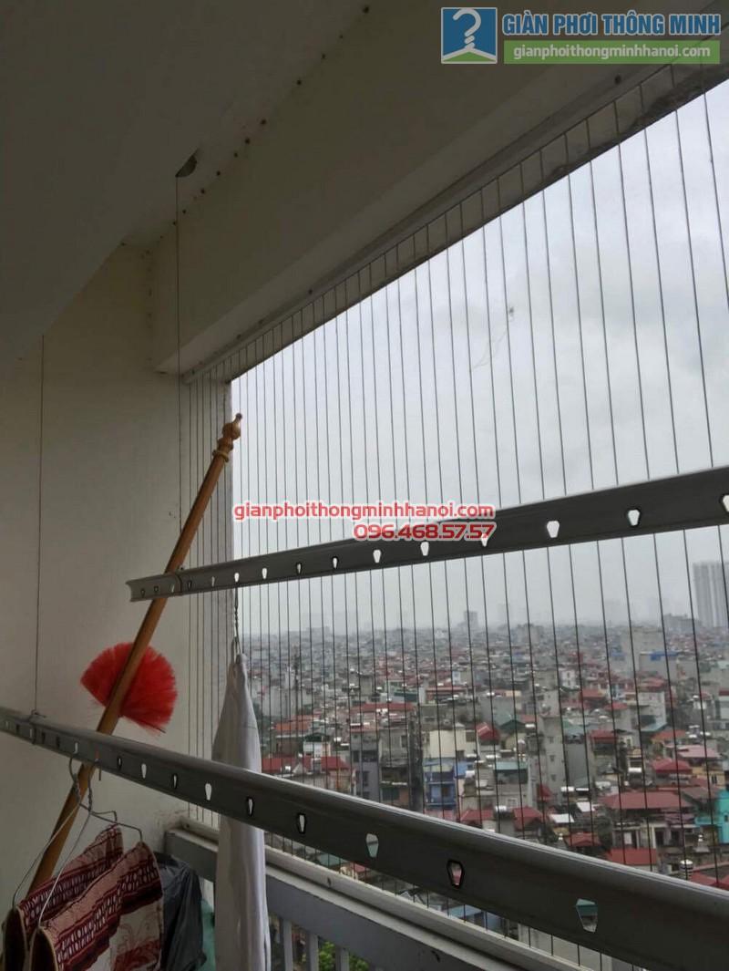 Sửa giàn phơi thông minh tại Thanh Xuân nhà chị Thanh, chung cư 183 Hoàng Văn Thái - 03