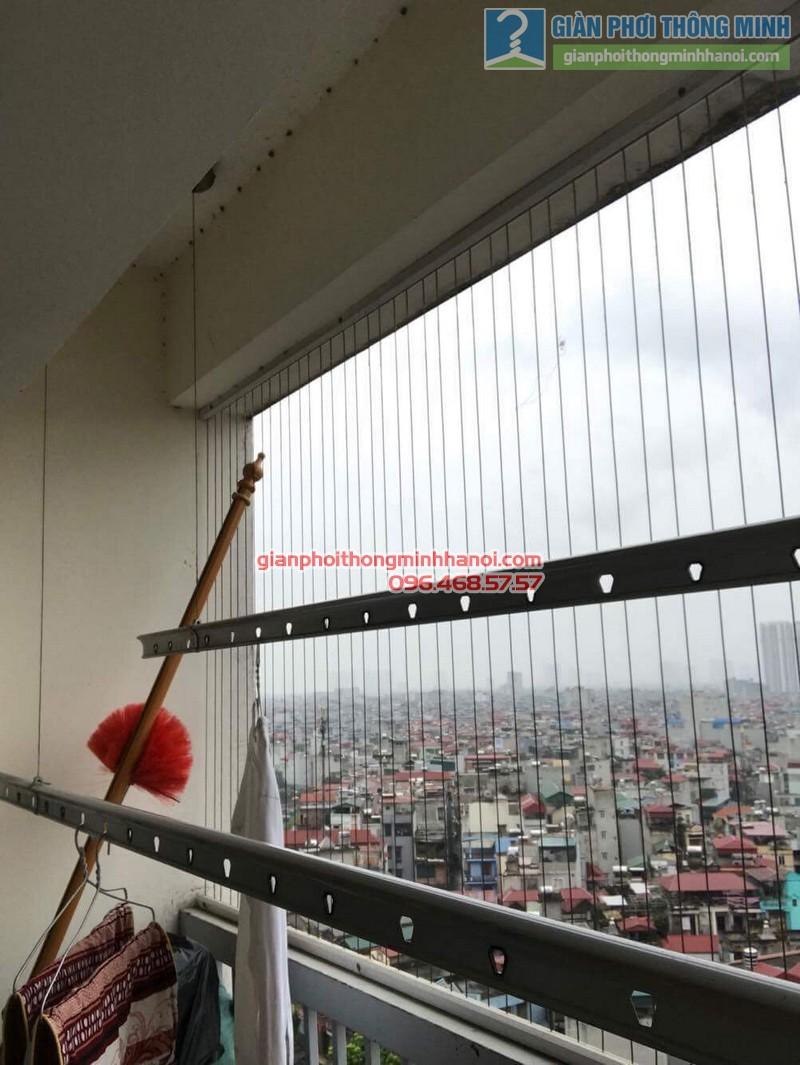 Sửa giàn phơi thông minh tại Thanh Xuân nhà chị Thanh, chung cư 183 Hoàng Văn Thái - 06