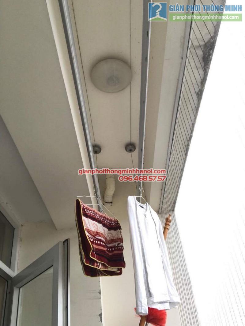 Sửa giàn phơi thông minh tại Thanh Xuân nhà chị Thanh, chung cư 183 Hoàng Văn Thái - 08