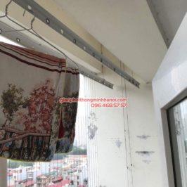 Sửa giàn phơi thông minh tại Thanh Xuân, nhà chị Thanh tòa CT1, chung cư 183 Hoàng Văn Thái