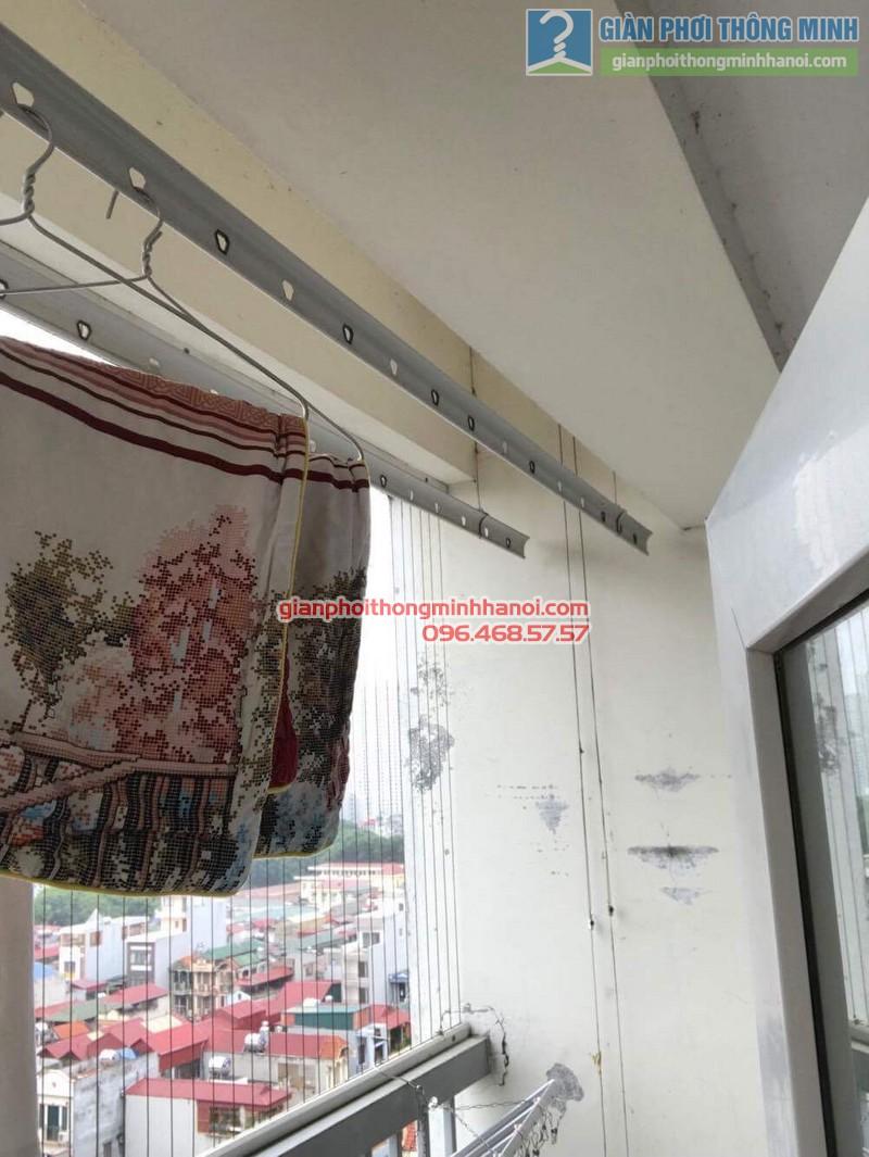 Sửa giàn phơi thông minh tại Thanh Xuân nhà chị Thanh, chung cư 183 Hoàng Văn Thái - 09