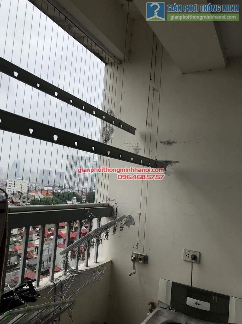 Sửa giàn phơi thông minh tại Thanh Xuân nhà chị Thanh, chung cư 183 Hoàng Văn Thái - 11