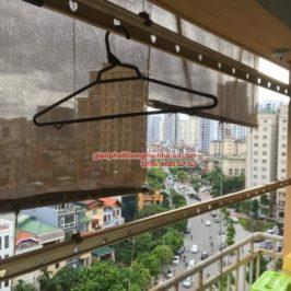 Thay củ quay giàn phơi thông minh cho nhà anh Trung, 120 Trung Kính, Cầu Giấy, Hà Nội