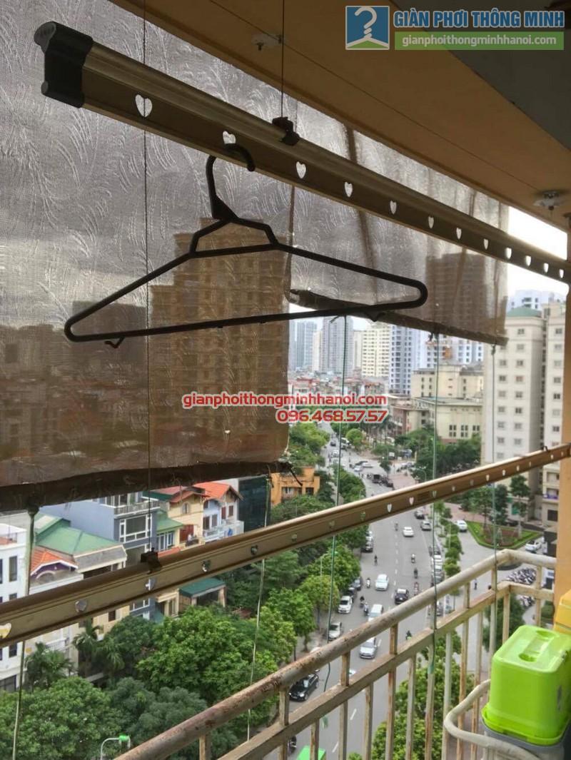 Thay củ quay giàn phơi thông minh nhà anh Trung, 120 Trung Kính, Cầu giấy Hà Nội - 05