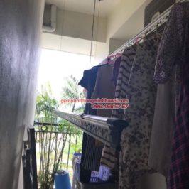 Lắp giàn phơi thông minh tphcm nhà chị Lan, chung cư Minh Long Tower, Quận 3