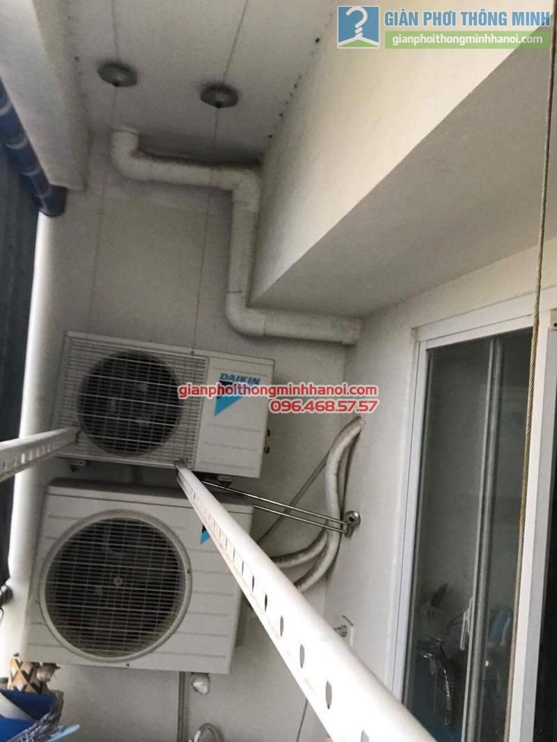 Sửa giàn phơi tại Hà Đông nhà anh Huy, chung cư ct8B Dương Nội - 03