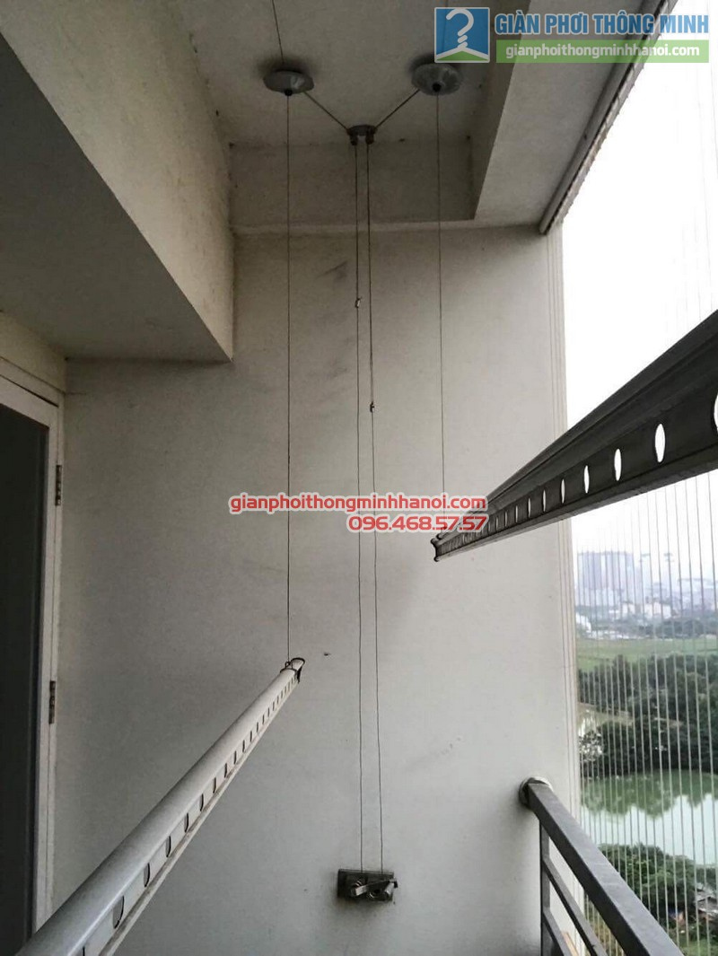 Sửa giàn phơi tại Hà Đông nhà anh Huy, chung cư ct8B Dương Nội - 08