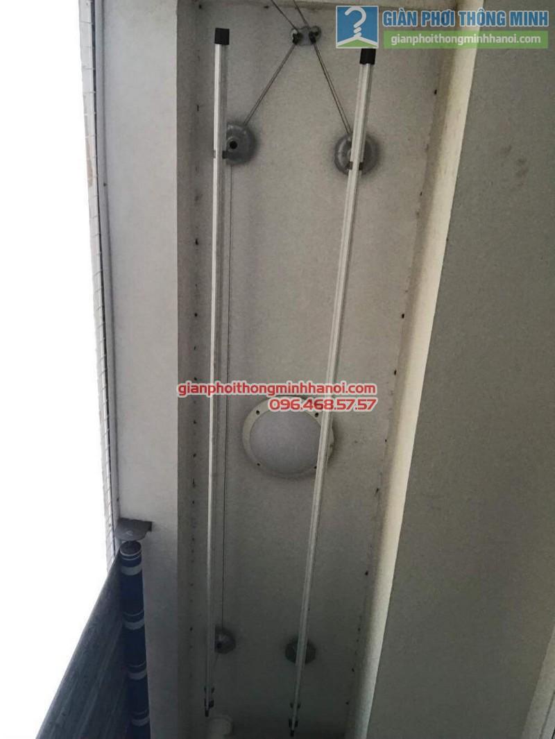 Sửa giàn phơi tại Hà Đông nhà anh Huy, chung cư ct8B Dương Nội - 09