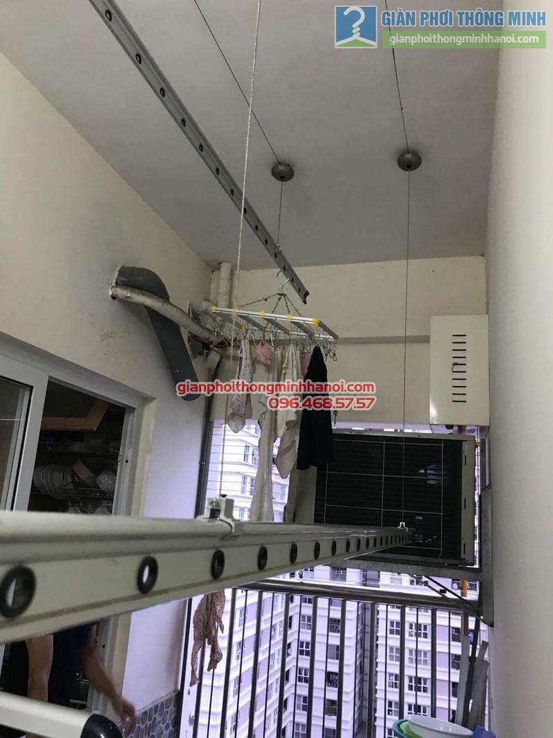 Sửa giàn phơi nhà anh Thụy, chung cư C14 Bộ công an, Nam Từ Liêm, Hà Nội - 05