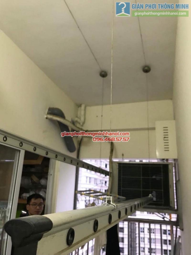 Sửa giàn phơi nhà anh Thụy, chung cư C14 Bộ công an, Nam Từ Liêm, Hà Nội - 07