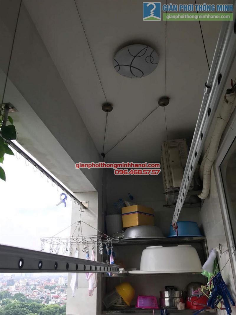 Sửa giàn phơi thông minh tại Đống Đa nhà chị Liễu, Chung cư B4 Kim Liên - 03