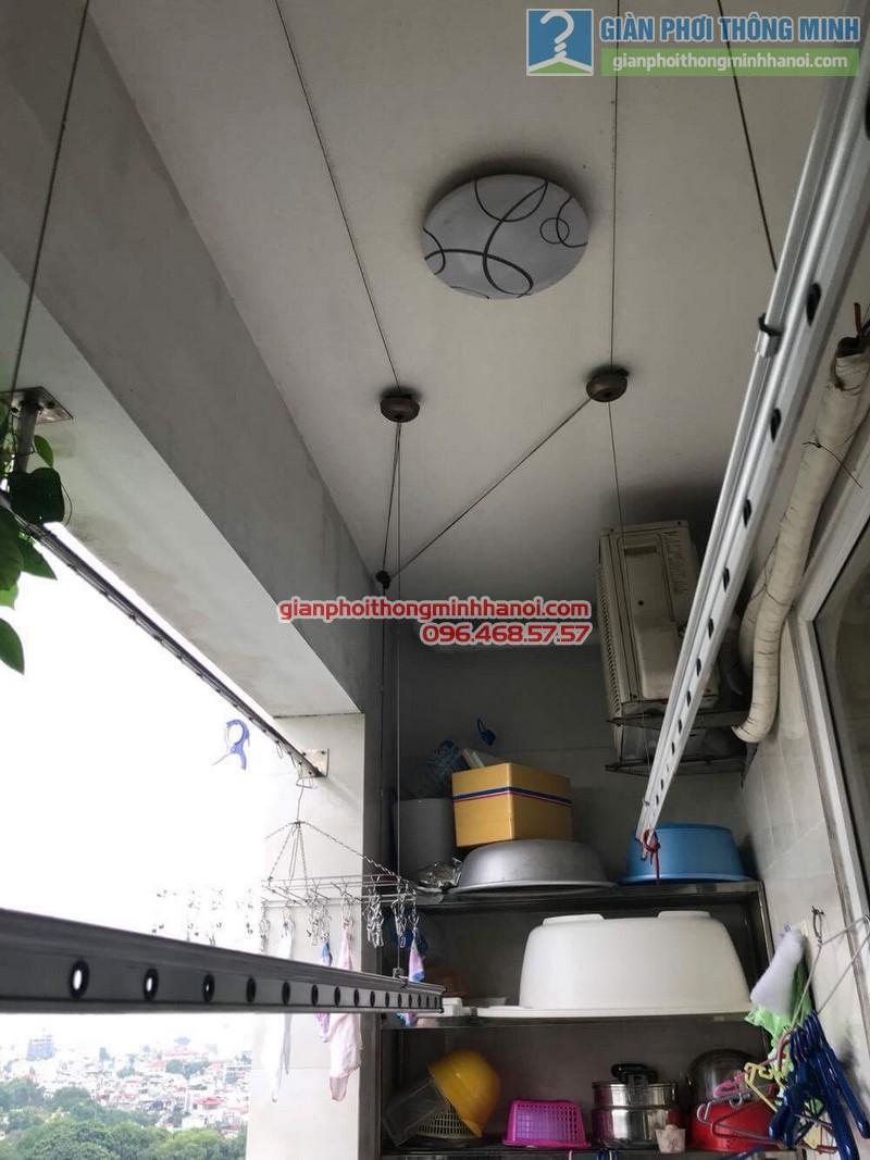 Sửa giàn phơi thông minh tại Đống Đa nhà chị Liễu, Chung cư B4 Kim Liên - 04