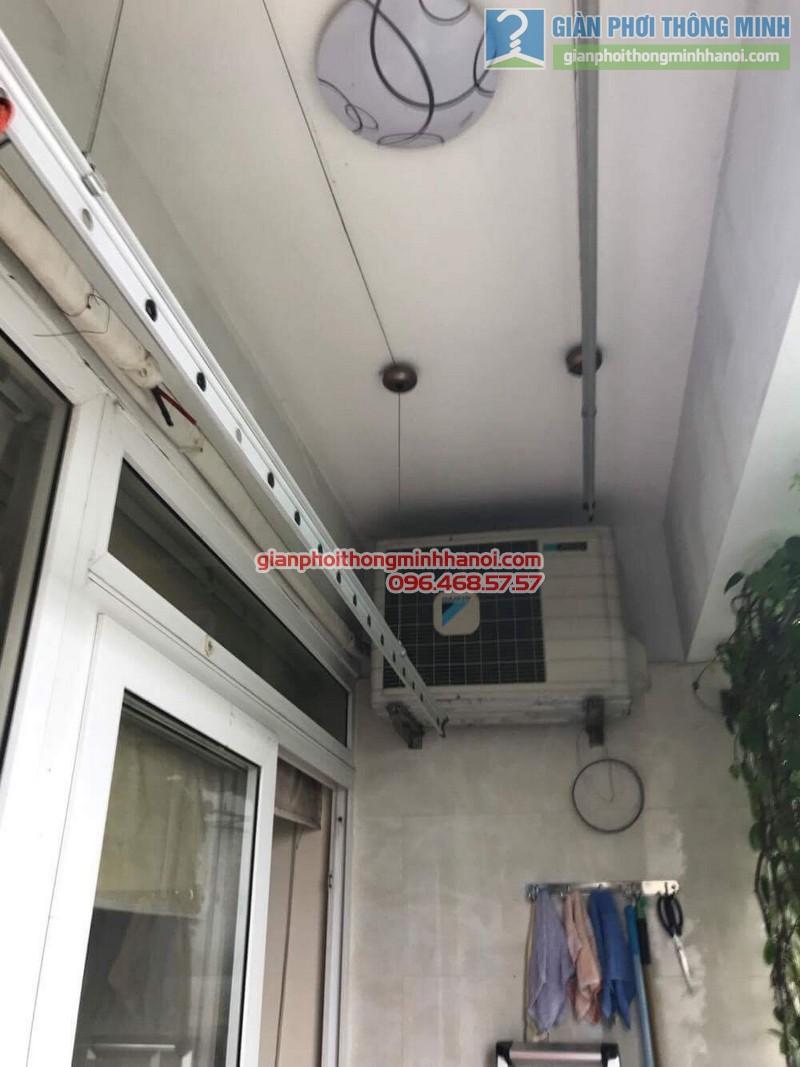 Sửa giàn phơi thông minh tại Đống Đa nhà chị Liễu, Chung cư B4 Kim Liên - 06