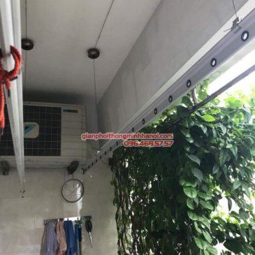 Sửa giàn phơi tại Đống Đa nhà chị Liễu, P1508 chung cư B4 Kim Liên