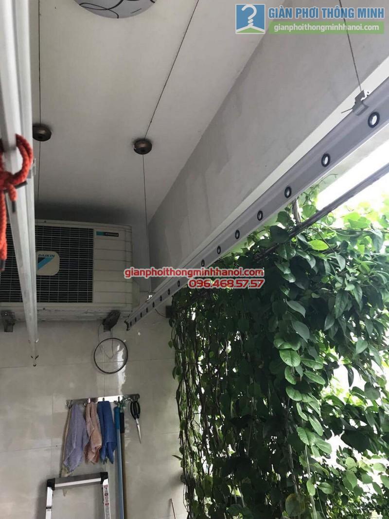 Sửa giàn phơi thông minh tại Đống Đa nhà chị Liễu, Chung cư B4 Kim Liên - 07
