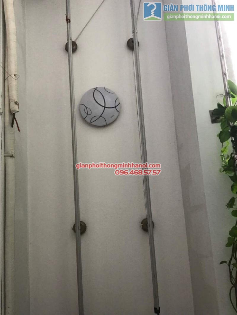 Sửa giàn phơi thông minh tại Đống Đa nhà chị Liễu, Chung cư B4 Kim Liên - 09