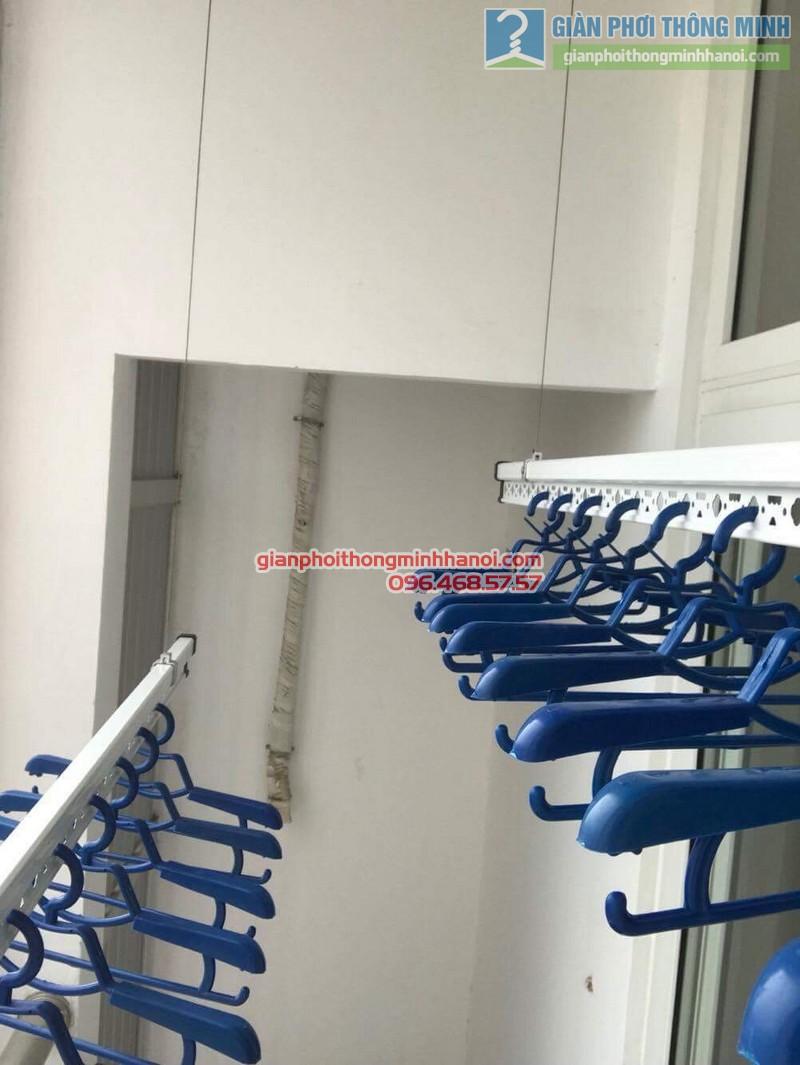 Lắp giàn phơi Hà Đông nhà chị Mỹ, P1505 Tòa 101 chung cư Usilk City - 10