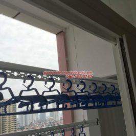 Lắp giàn phơi Hà Đông nhà chị Mỹ, P1505, Tòa 101 chung cư Usilk City