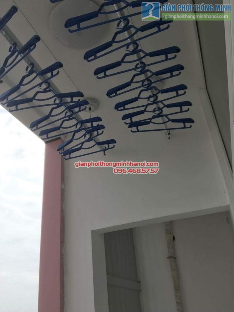Lắp giàn phơi Hà Đông nhà chị Mỹ, P1505 Tòa 101 chung cư Usilk City - 06