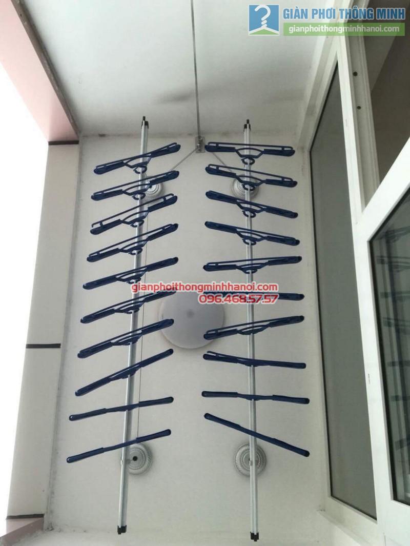 Lắp giàn phơi Hà Đông nhà chị Mỹ, P1505 Tòa 101 chung cư Usilk City - 03
