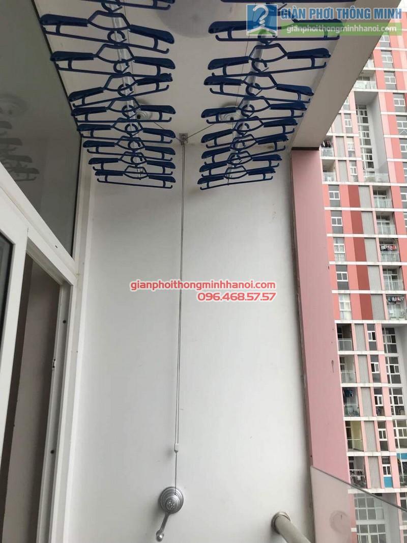 Lắp giàn phơi Hà Đông nhà chị Mỹ, P1505 Tòa 101 chung cư Usilk City - 02