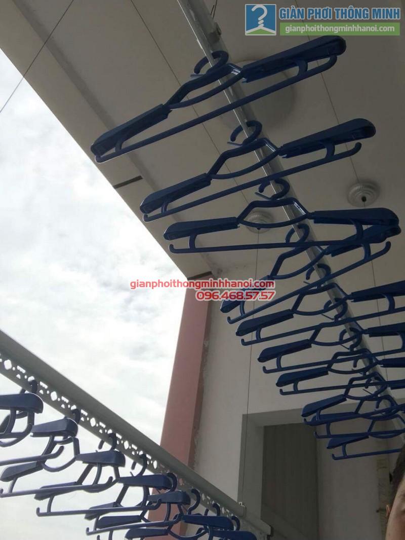 Lắp giàn phơi Hà Đông nhà chị Mỹ, P1505 Tòa 101 chung cư Usilk City - 01
