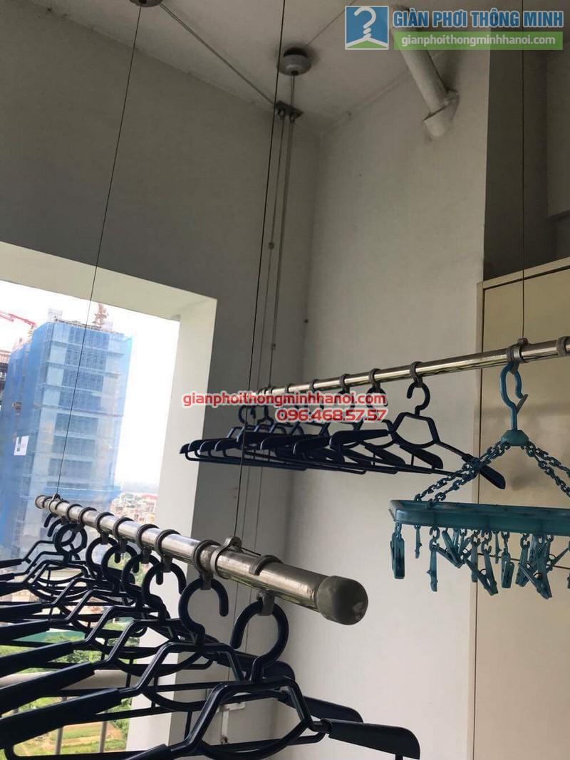 Sửa giàn phơi Duy Lợi nhà chị Linh, chung cư Vườn Đào, 689 Lạc Long Quân, Tây Hồ, Hà Nội - 03