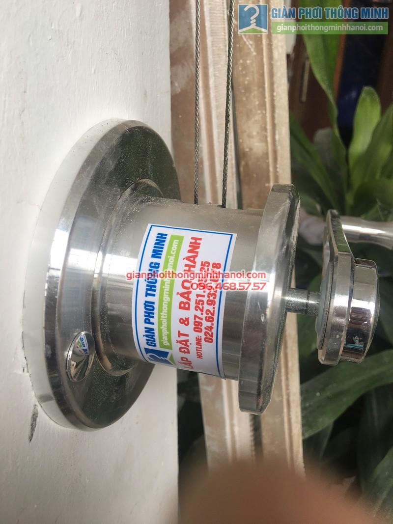 Lắp giàn phơi thông minh Đống Đa hà chị Hà, ngõ 64 Nguyễn Lương Bằng - 04